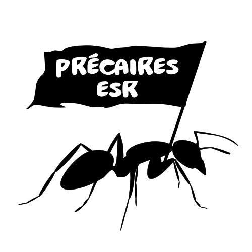 Logo des travailleur·se·s précaires de l'ESR