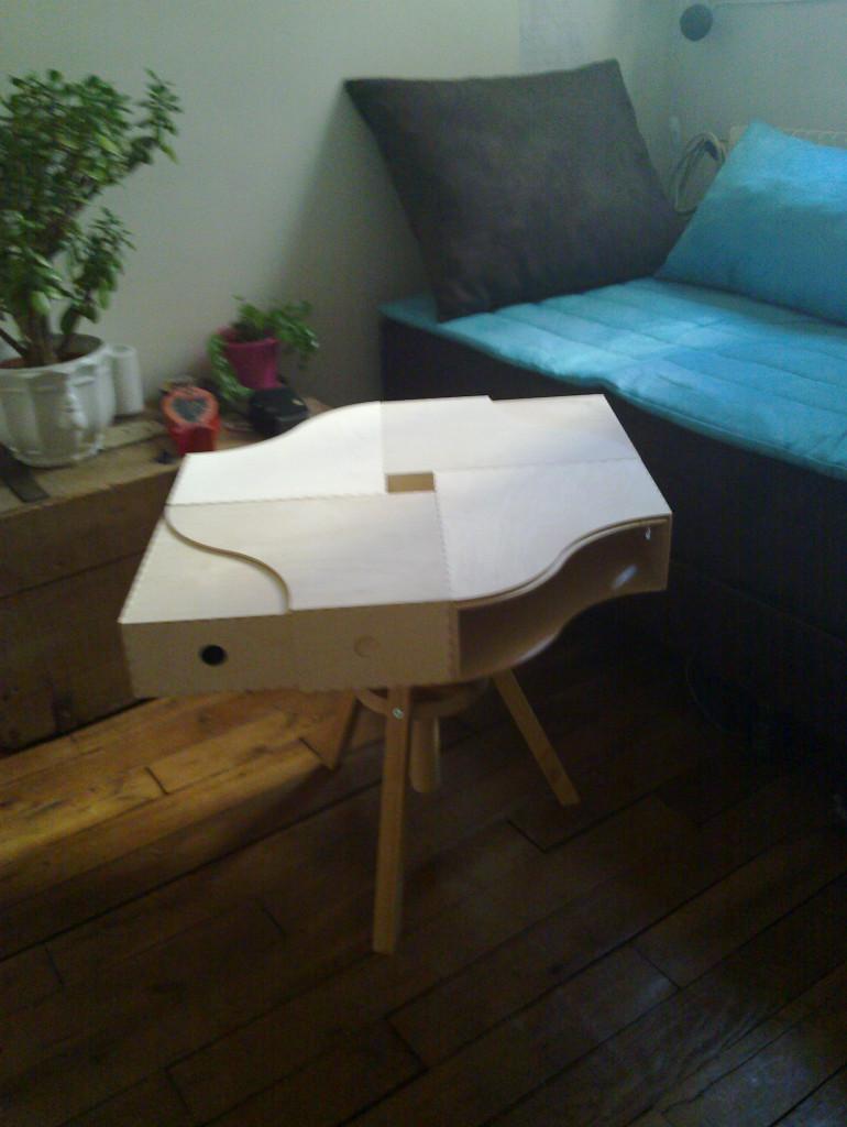 Hack Ikea - table basse