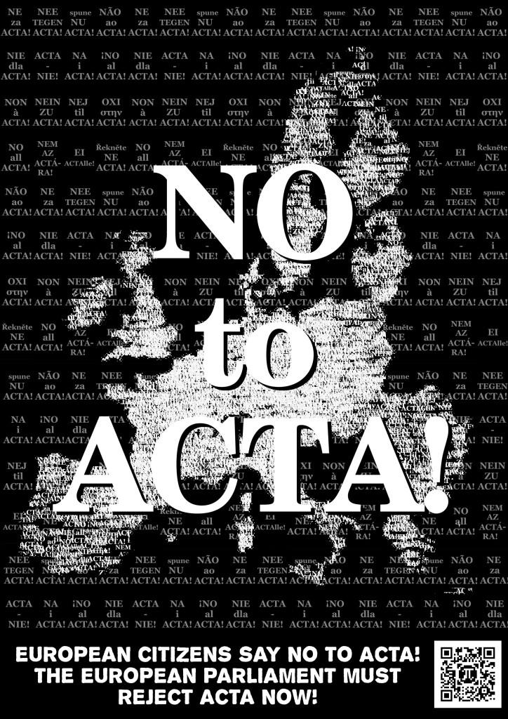 Europe Say No To ACTA